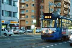 夕刻の路面電車 Ⅰ