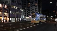 夕刻の路面電車 Ⅷ