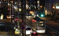 夕刻の路面電車 Ⅴ