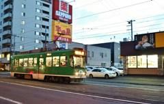 夕刻の路面電車 Ⅱ