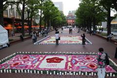 花のイベント フラワーカーペット4