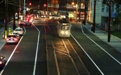 夕刻の路面電車 Ⅳ