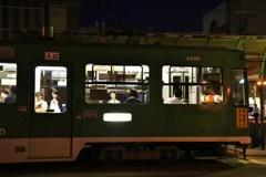 夕刻の路面電車 Ⅸ