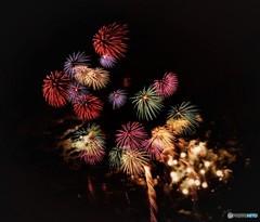 冬の花火⑥