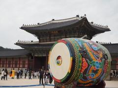 景福宮にて[韓国の旅⑱]