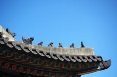 魔除けの屋根飾り[韓国の旅⑰]