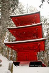 隠津島神社 三重の塔
