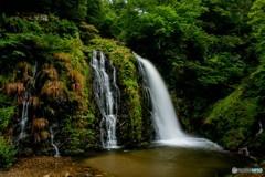 白銀の滝(全景)