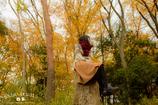 顔の見えない秋ポートレート⑦