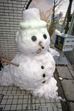 エクランナクレの雪だるま