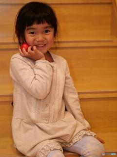 小さなリンゴで撮影会①