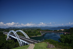 2つのアーチ橋
