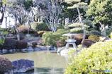 大阪城の日本庭園