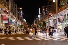 岐阜駅の夜②_CANON EOS70D