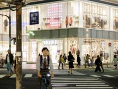横断歩道を渡る人たち 富士フィルムX20