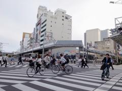 2017.06.12_名鉄岐阜駅交差点 富士フィルムX20