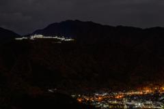 竹田城跡 ライトアップ