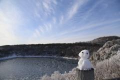 雪だるま⁇