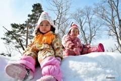 雪遊び~♪ №4 北の国から