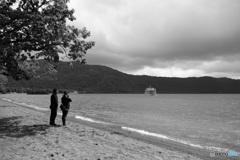 十和田湖にて-Ⅱ