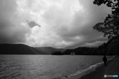 十和田湖にて-Ⅳ