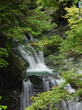 見返りの滝 中間2段