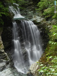見返りの滝 下段部上流から正面