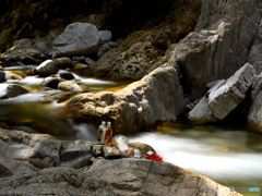鈍川渓谷de至福のランチ