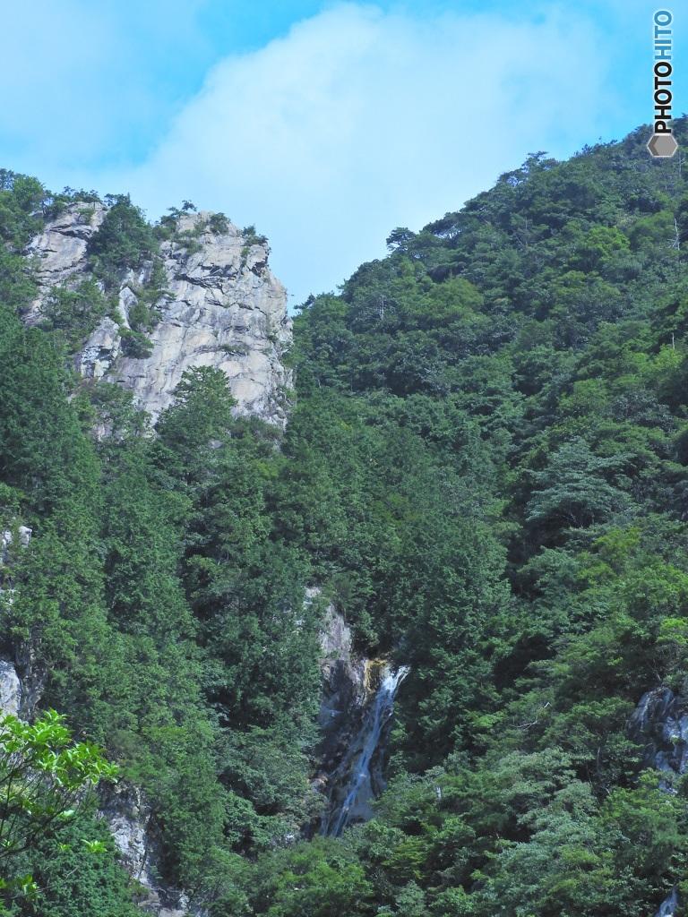 楊梅の滝 滝見台2/2end