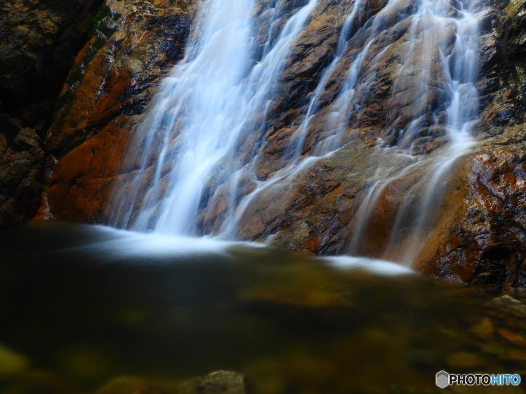 楊梅の滝 雄滝の壺