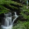 見返りの滝 かすかに最上段
