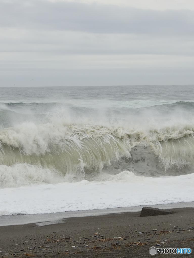 波ウォッチング