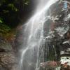 背龍の滝 段部