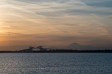 sunset view of tokyo bay1