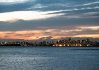SONY ILCE-7RM2で撮影した(東京湾 秋の夕暮れ)の写真(画像)