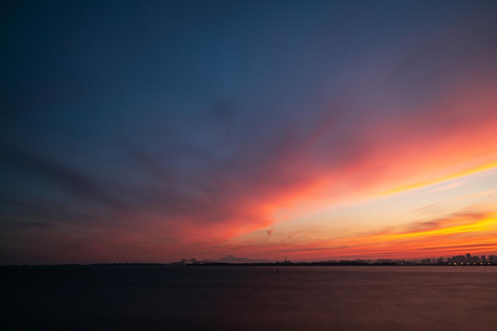 東京湾夕景2