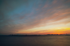 東京湾夕景4