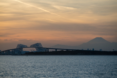 sunset view of tokyo bay4