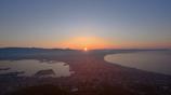 函館山からの日の出