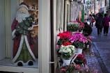 サンタのいる花屋
