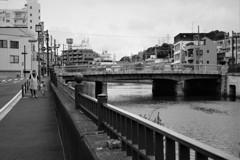 一本橋風景