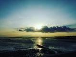 有明海、長崎に続く光の道