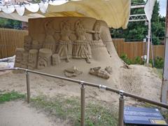 砂の美術館④
