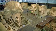 砂の美術館③
