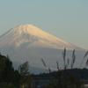 P1120117 10月22日 朝の富士山