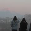 2018年 元旦の富士山
