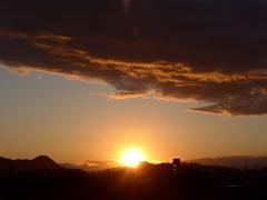 P1070887 ある日の夕空