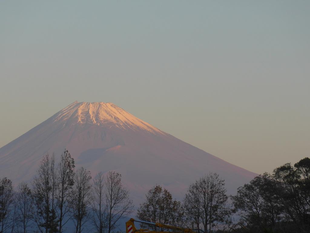 P1120296 11月2日 朝の富士山