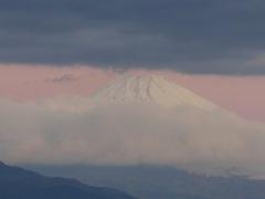 P1130075 12月15日 今朝の富士山