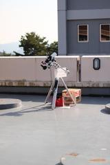 昼間の天体観測